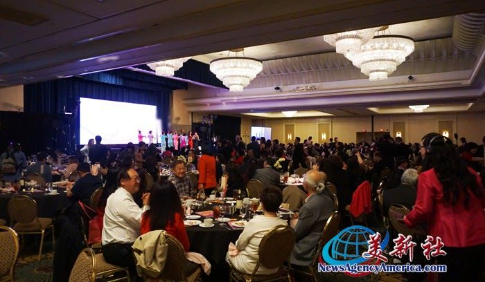 The Southern California Chapter of the Global Federation of Chinese Business Women Held the Sixth Golden Crown Awards Ceremony
